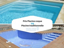 prix piscine coque vs piscine traditionnelle