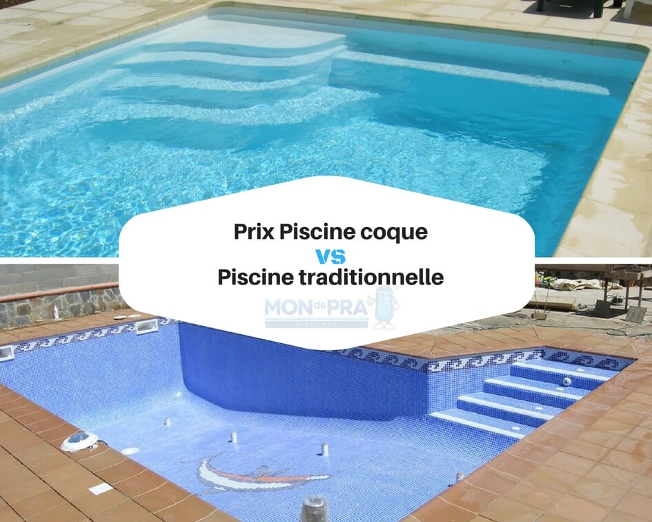 Prix piscine coque vs piscine traditionnelle piscines for Piscine moins chere coque